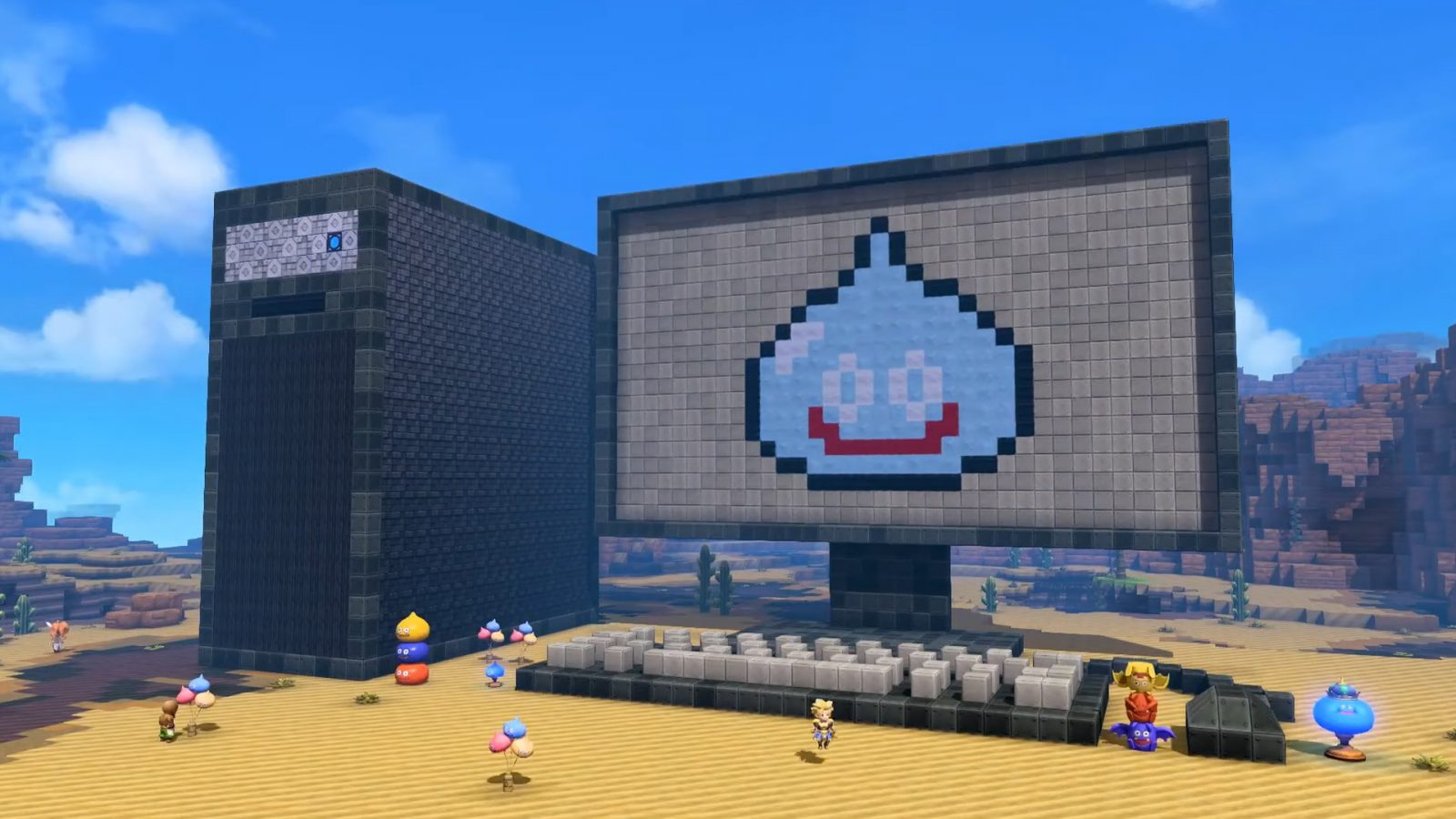Dragon Quest Builders 2 puts RPG in your Minecraft, and it hits Steam next month