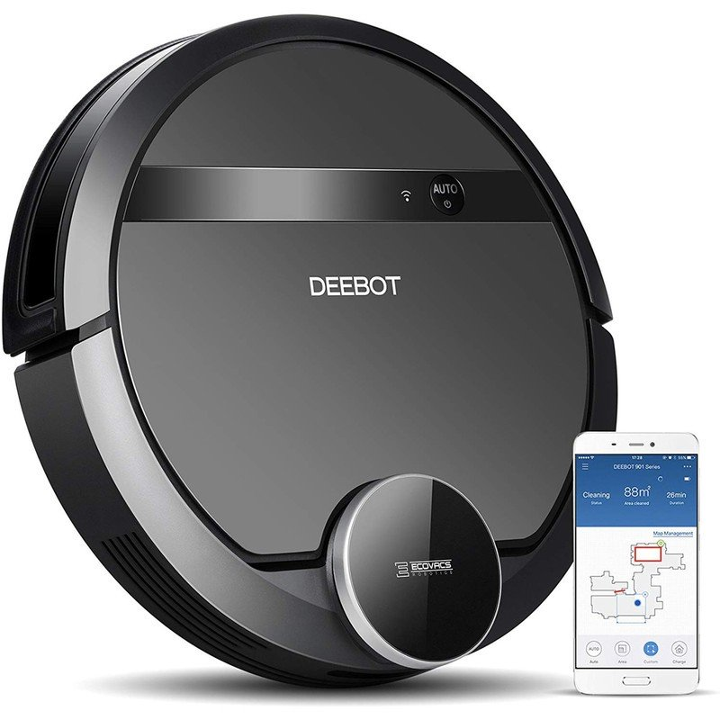 Get help for holiday messes with the Ecovacs Deebot 901 robot vacuum down to $191
