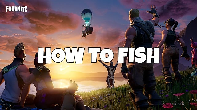 How to Fish in Fortnite Chapter 2