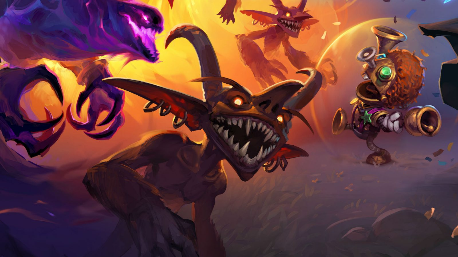 Hearthstone Battlegrounds' new heroes available now, but others have been removed