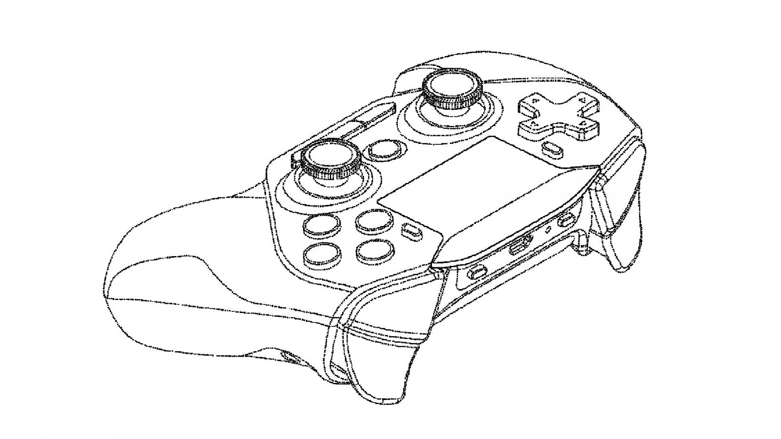 Intel patents Sony Dualshock-style gamepad likely fit for cloud gaming