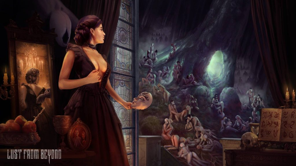 """Erotic Horror Game """"Lust from Beyond"""" Gets a Free Prologue"""