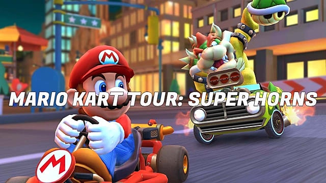 Mario Kart Tour Guide: How to Get the Super Horn and Land 5 Hits