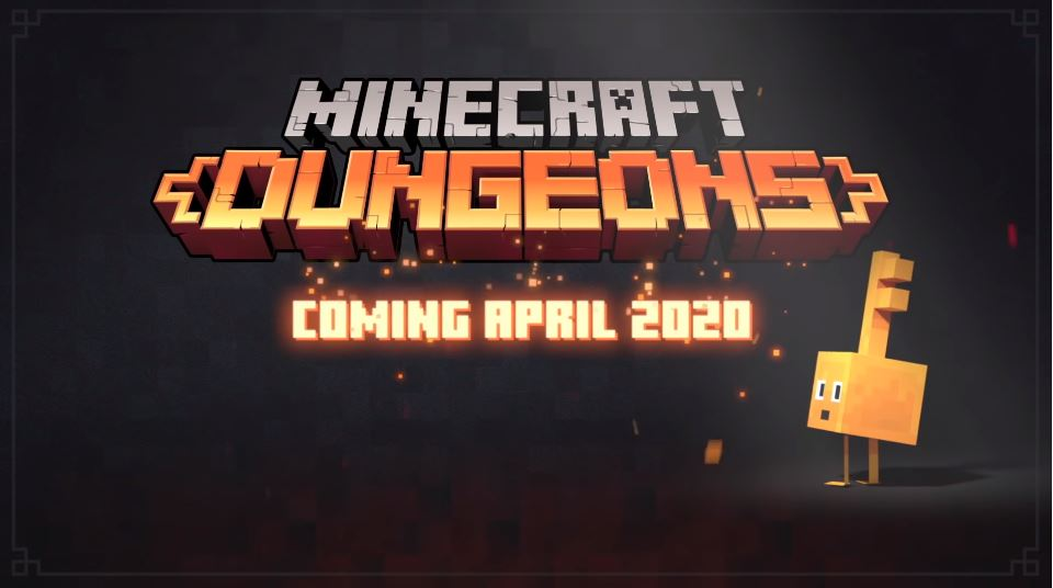 Minecraft Dungeons Launches in April 2020