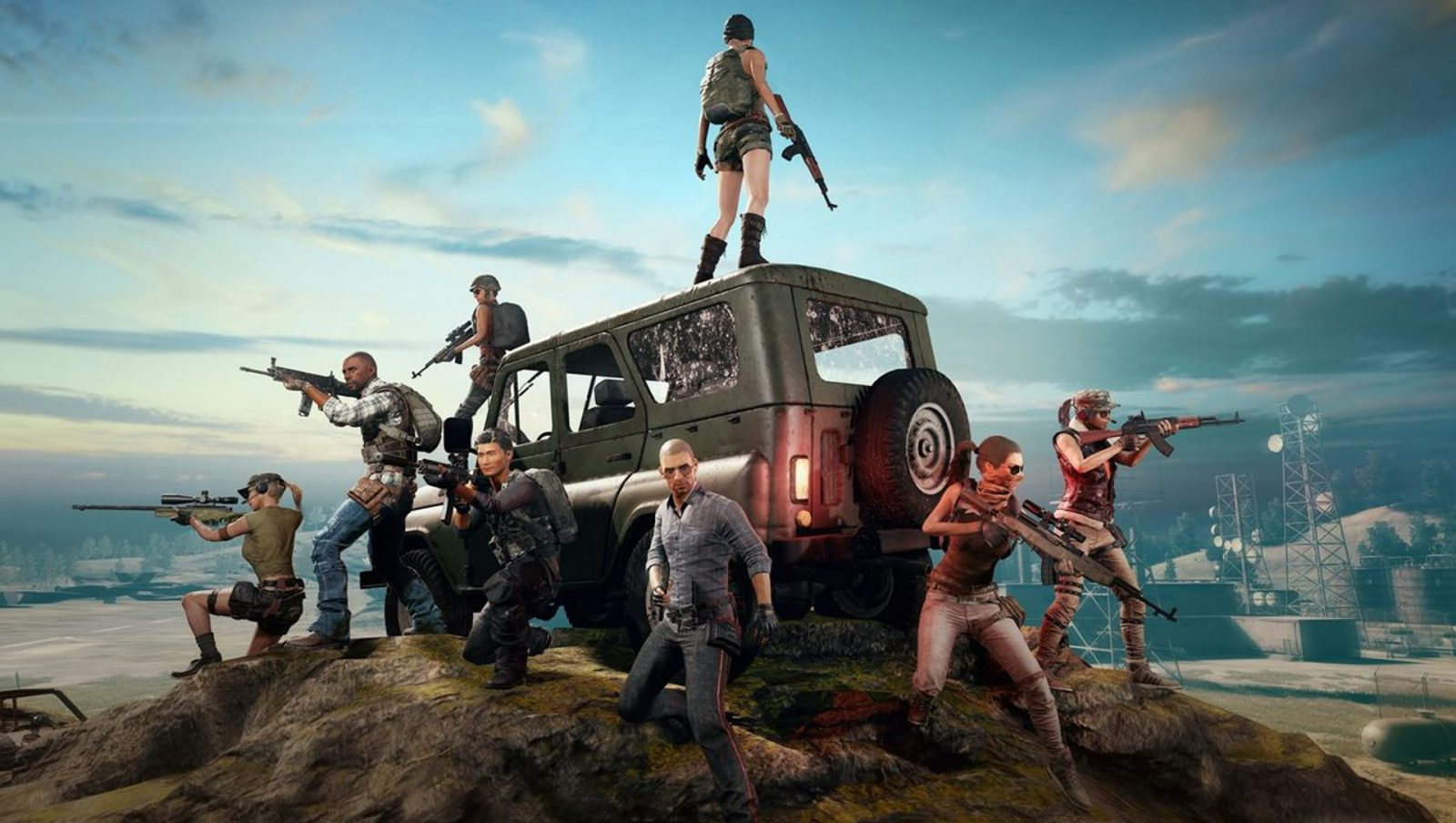 PUBG appears to have a clan system on the way