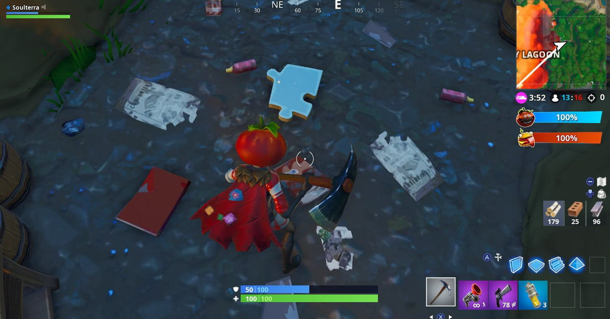 Fortnite Week 8 Challenge: Search Jigsaw Puzzle Pieces Under Bridges and in Caves