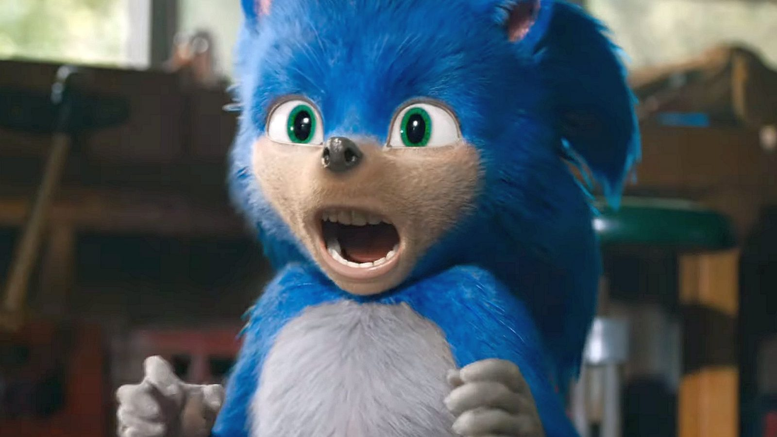Sonic movie's redesigned hedgehog revealed following controversy