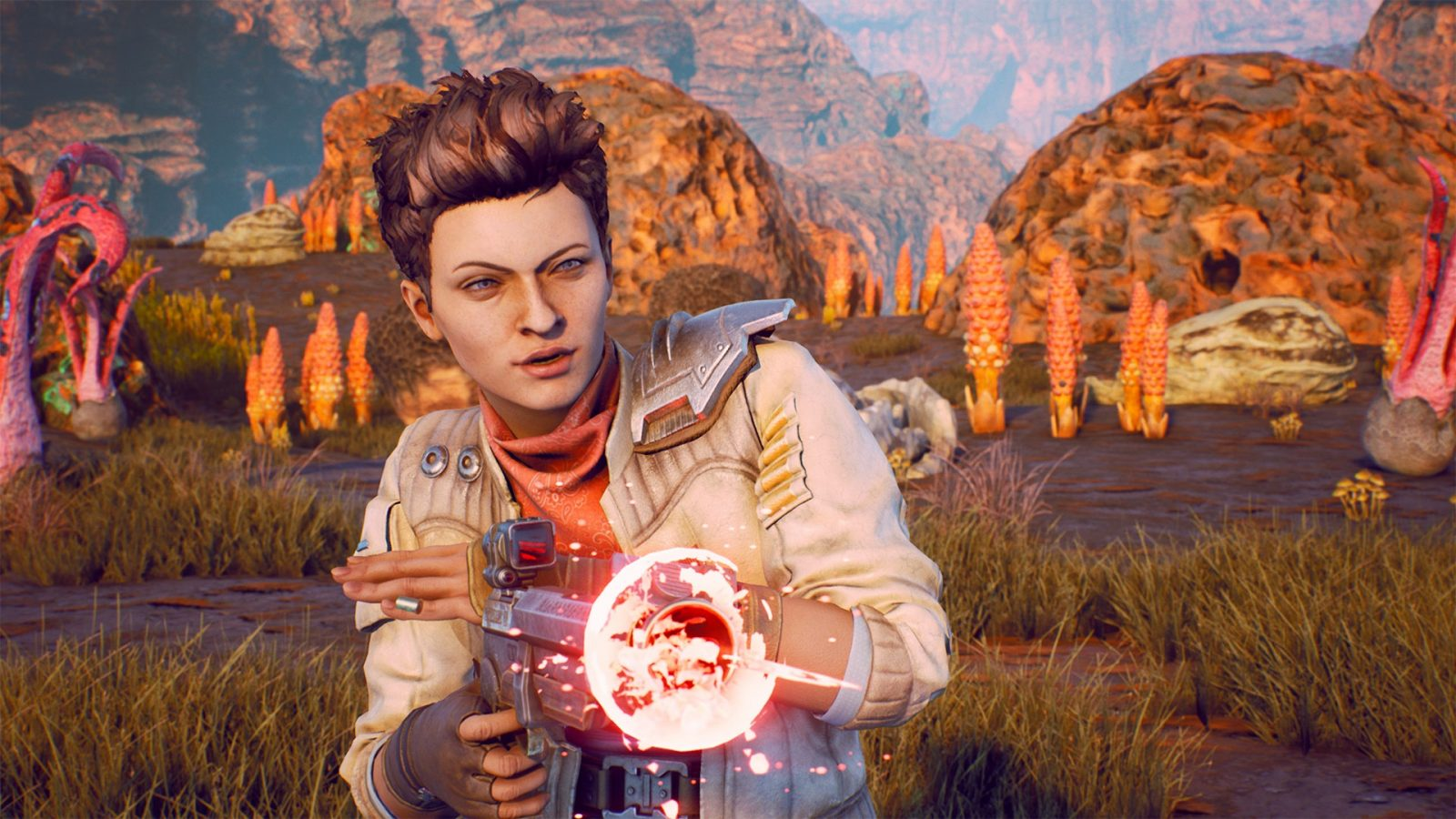 The Outer Worlds had a bug that sent companions climbing into space