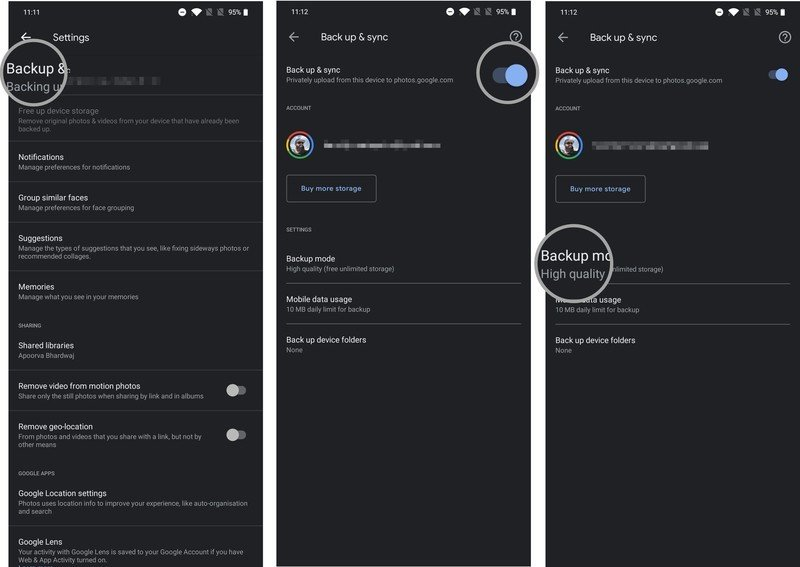 How to transfer photos and videos to your new Android phone