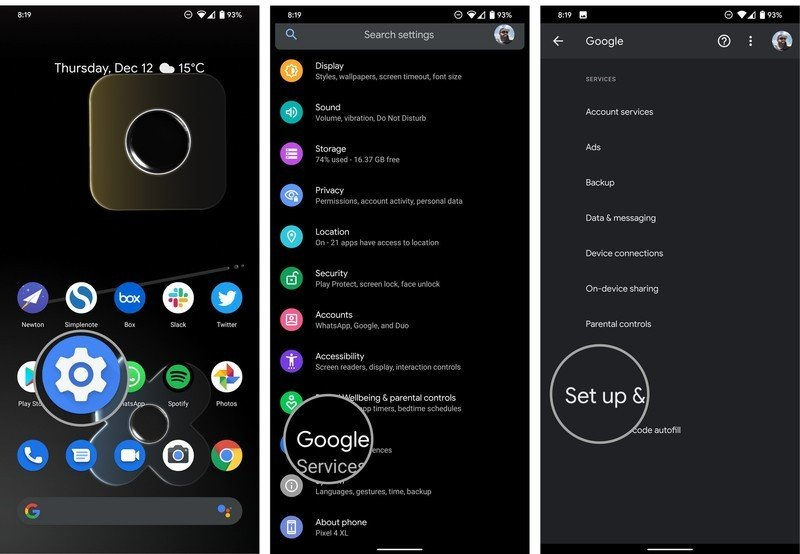 How to transfer data from your old Android phone to your new phone
