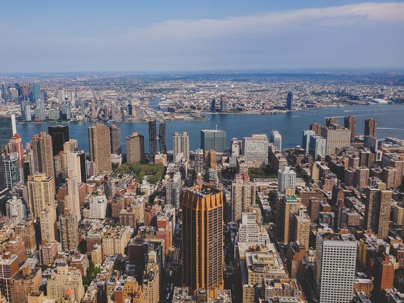 New York City shot from the Empire State Building with the Galaxy Note 10