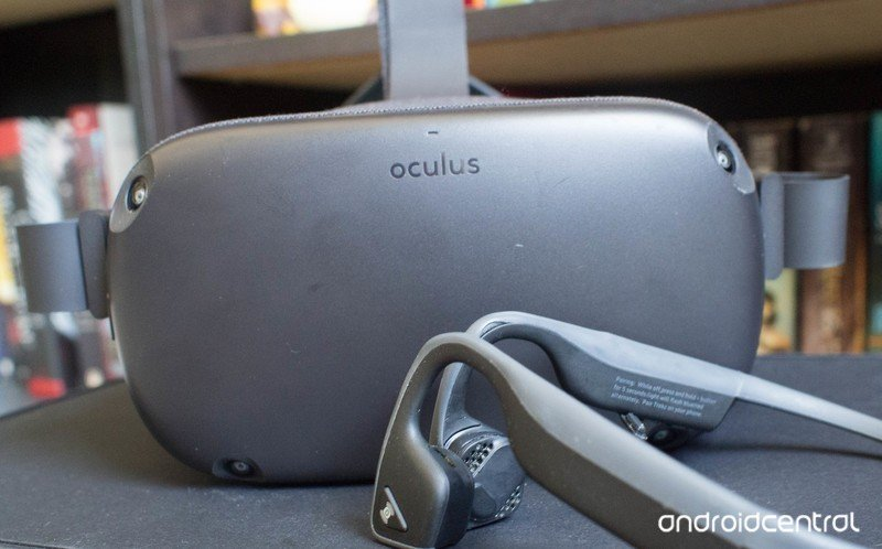 Oculus Quest and Aftershokz