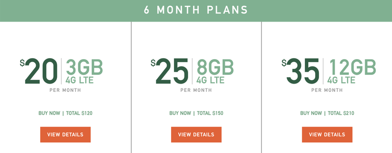 Mint Mobile 6 month plans