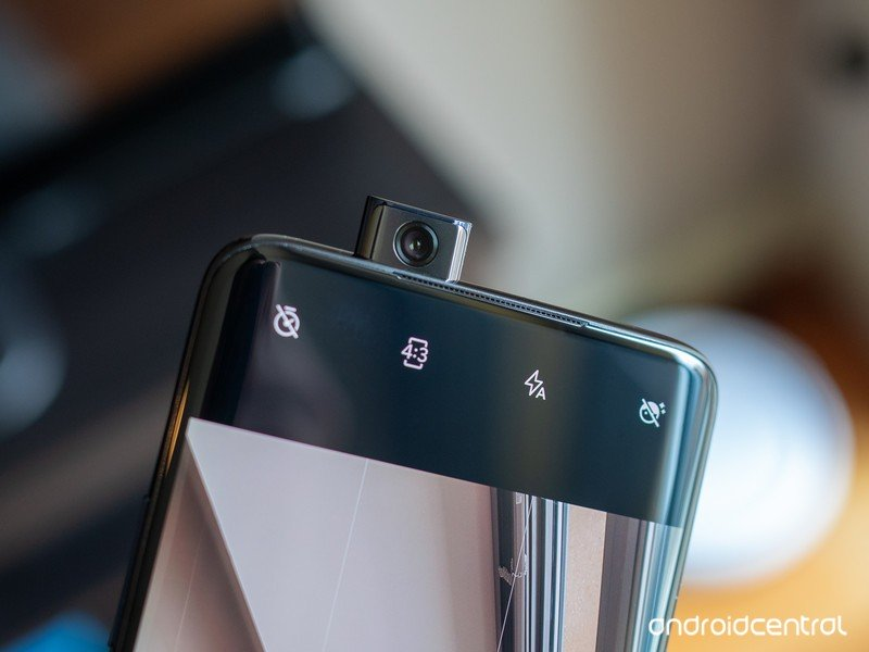 OnePlus 7 Pro with its pop-up selfie camera