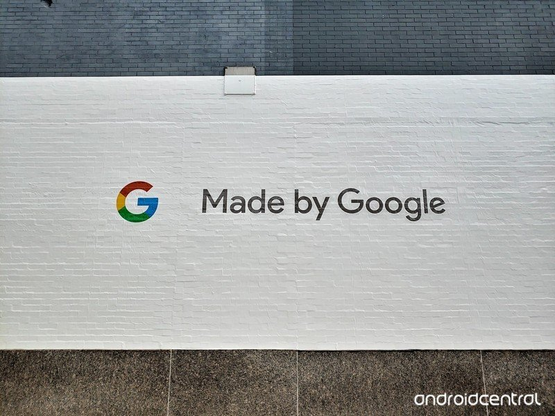 Made by Google sign at CES 2018