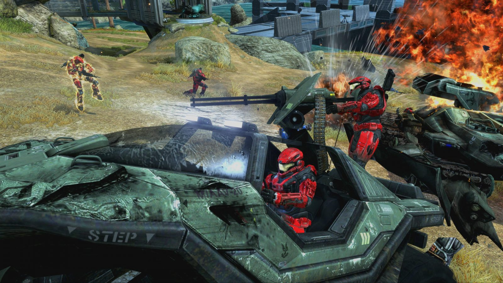 343 Promises Fixes for Halo: Reach's Audio and Stutters