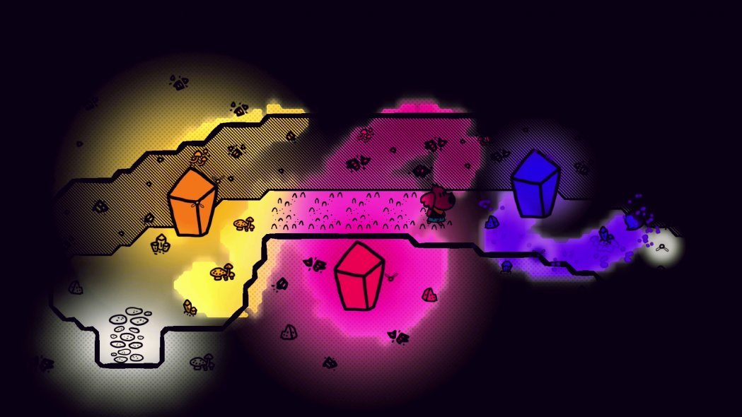 Chicory: A Colorful Tale Blends Puzzle Games and SHMUPs