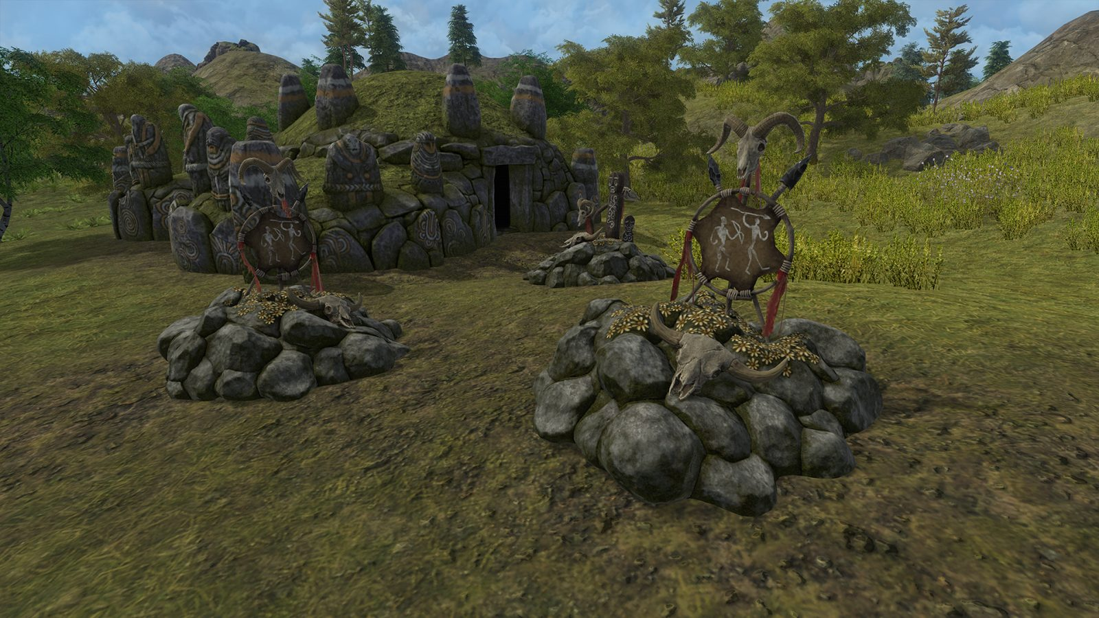 New Dawn of Man Update Focuses on Burial Rituals