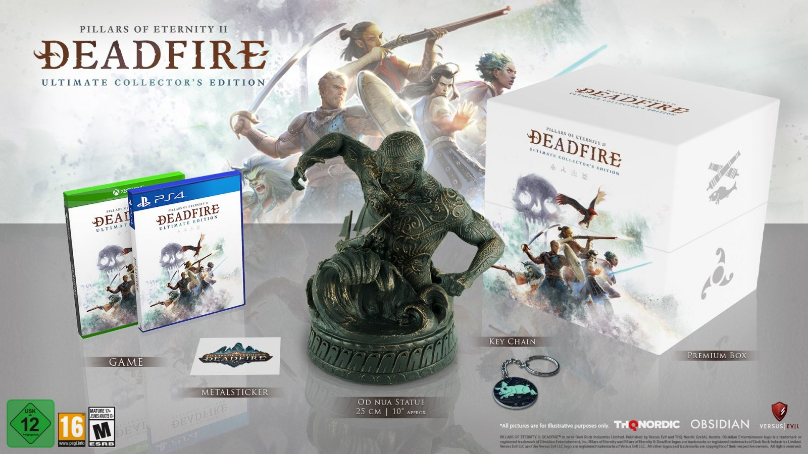 Pillars of Eternity II: Deadfire – Ultimate Edition Launches for PS4 and Xbox One on January 28