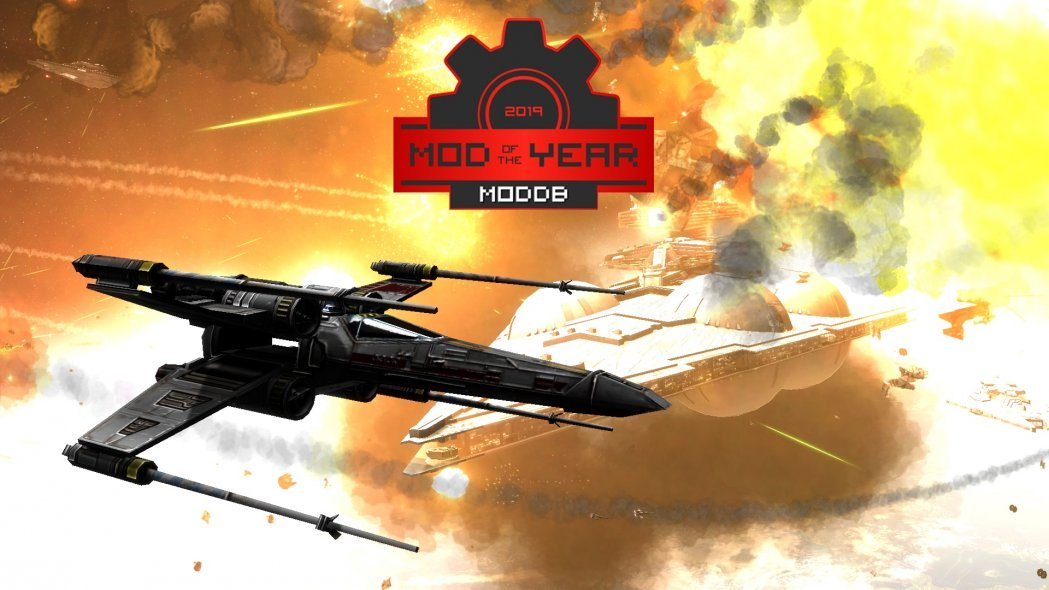 After nearly 80k votes, ModDB's Mod of the Year has been announced