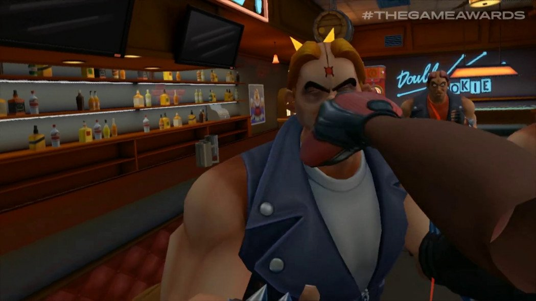 Path of the Warrior is a VR Beat 'Em Up