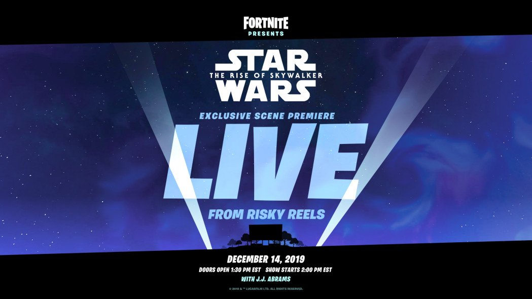 Watch a Clip of the Upcoming Star Wars in Fortnite