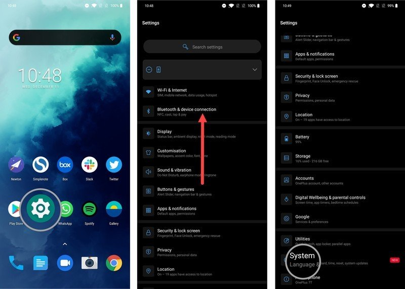 How to back up data on your old Android phone