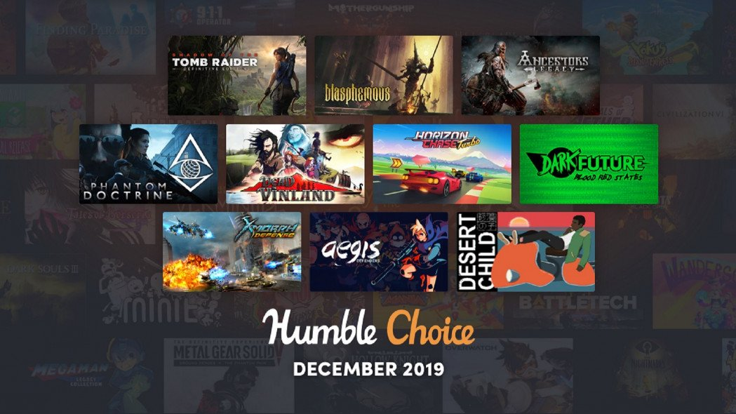 First Batch of Humble Choice Games Revealed