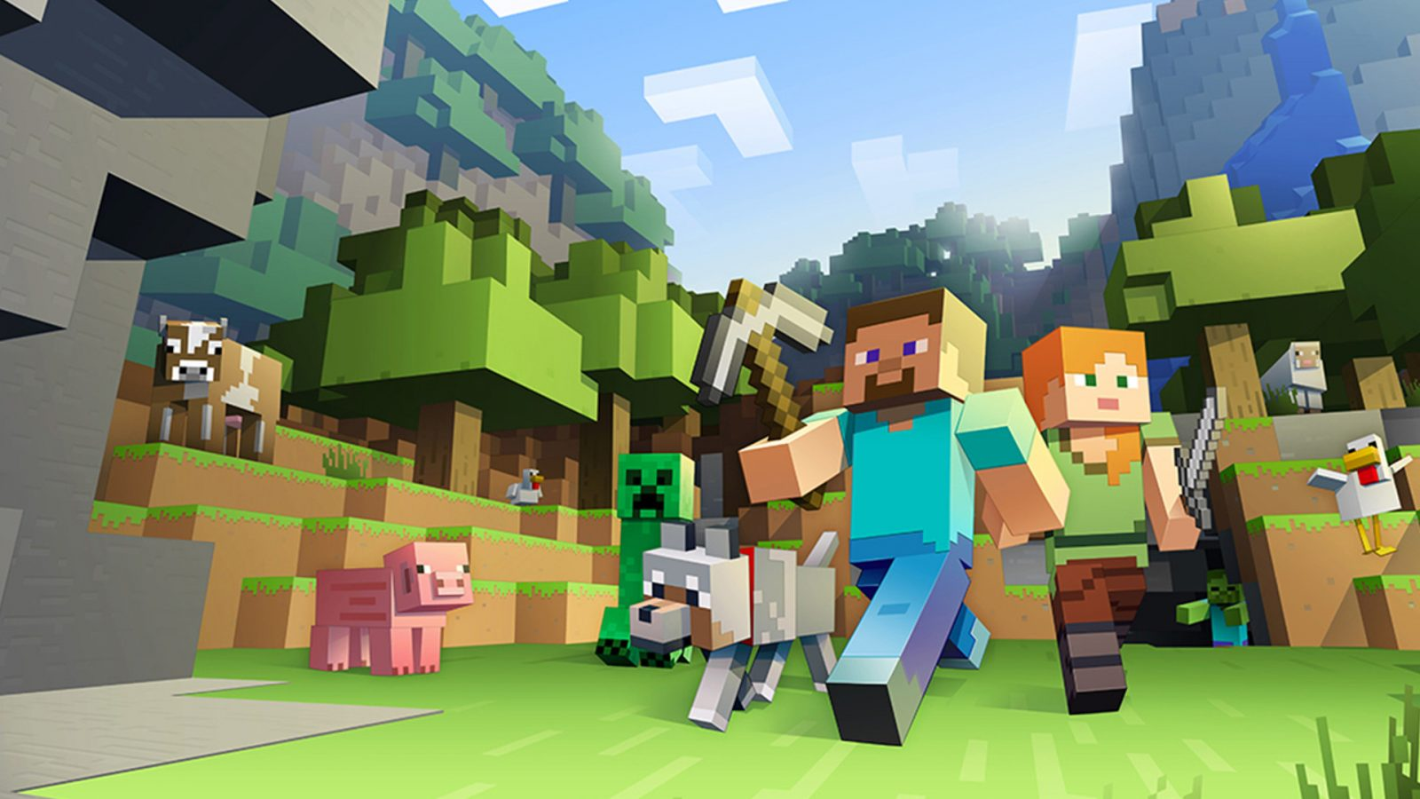 You can finally play Minecraft with your friends on PS4