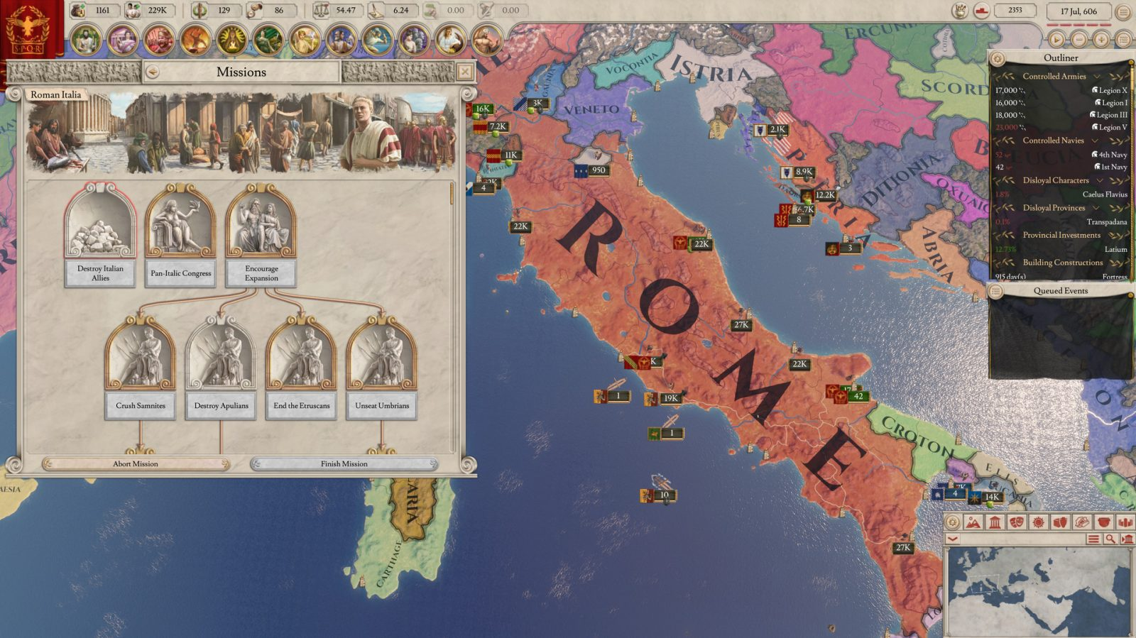 Imperator: Rome Gets New Content, Free Weekend on Steam