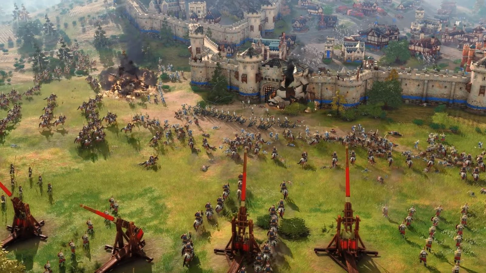 Here's why Age of Empires 4 doesn't have environmental destruction – sort of