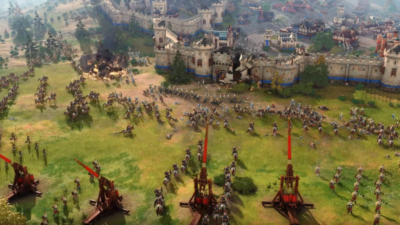 Age of Empires 4 has fewer civs than Age of Empires 2
