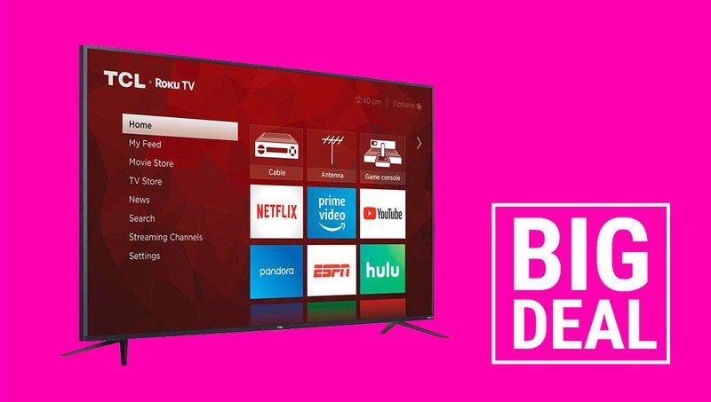 Wow, you can buy a 75-inch 4k TV for $600 this Cyber Monday