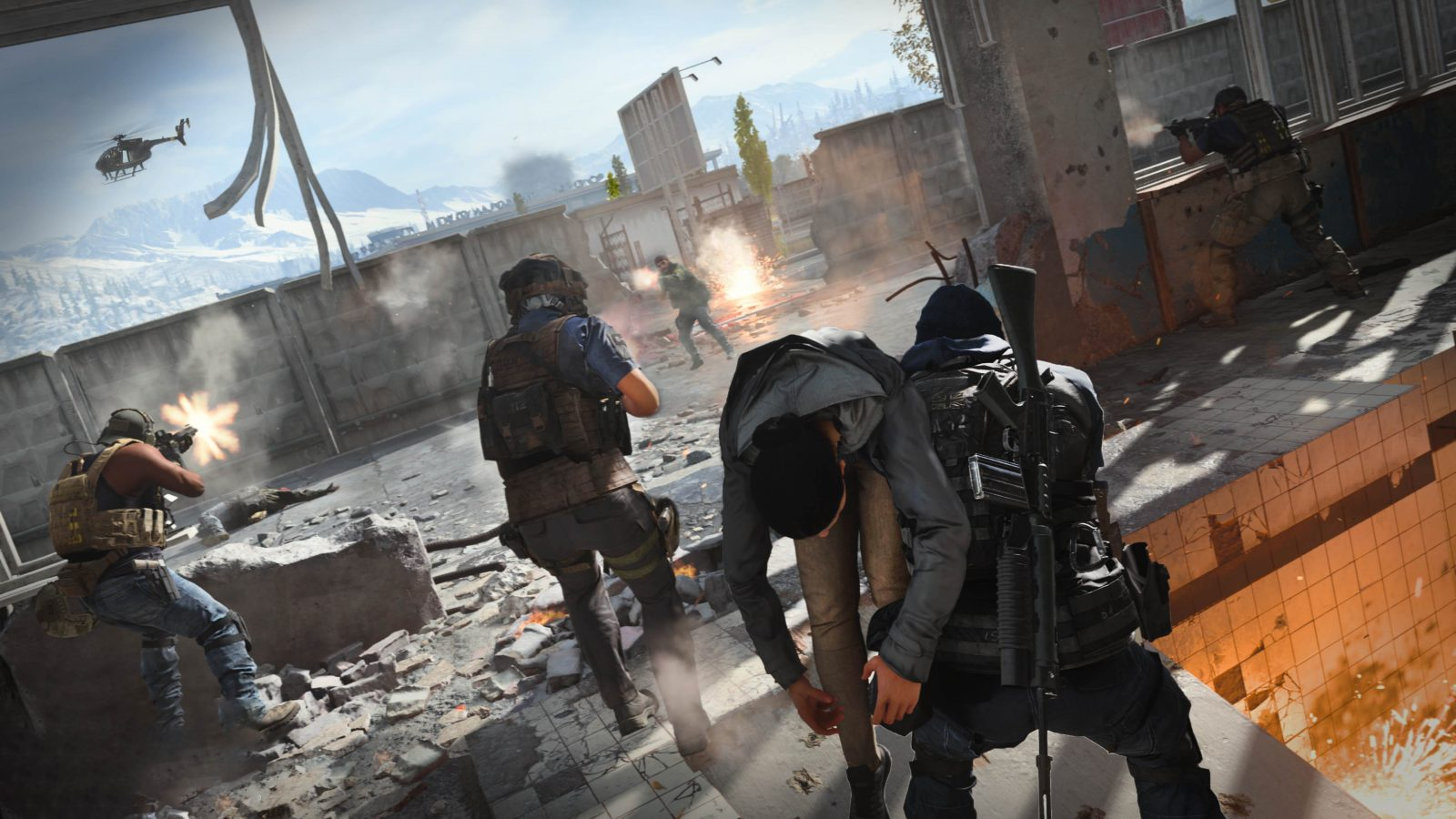Call of Duty: Modern Warfare's Gunfight is getting 1v1 and 3v3 modes