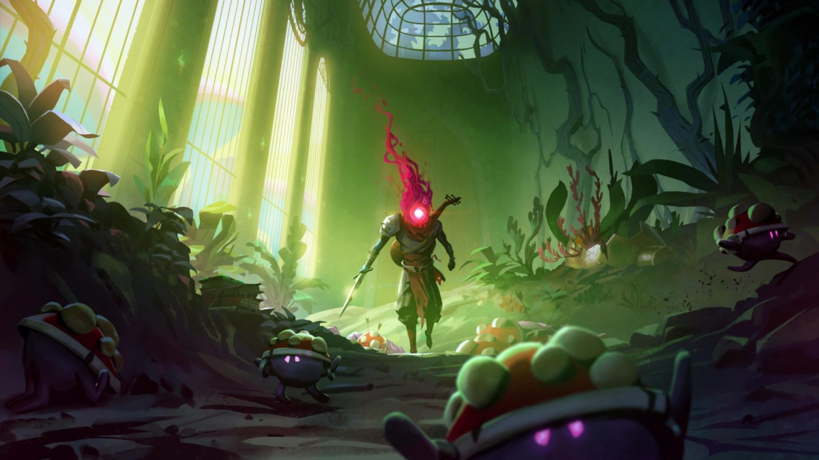 Dead Cells' Next DLC is Diving Into a Swamp of Angry 'Shrooms