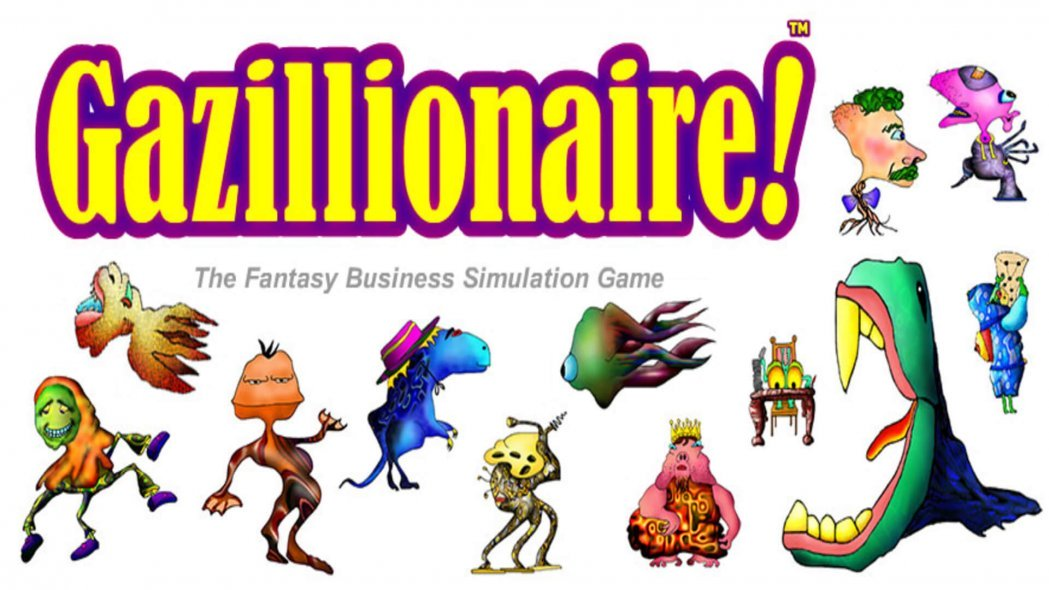 1990's Business Game Gazillionaire Heading to Steam