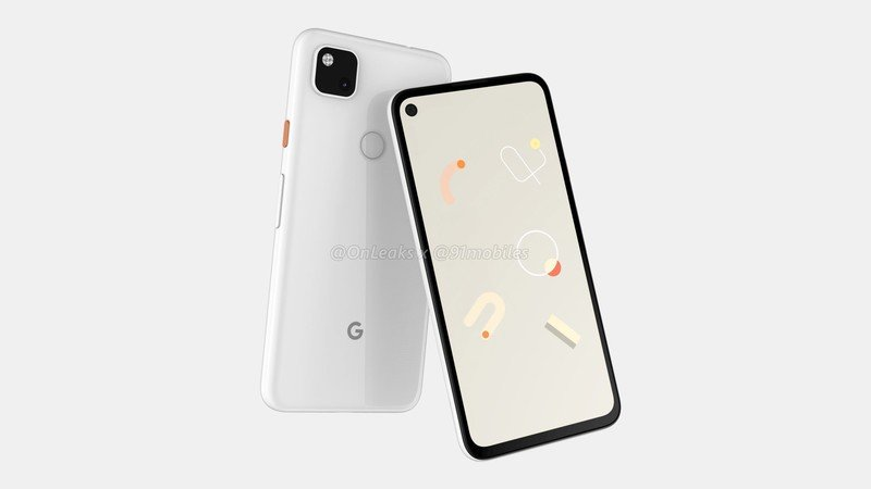 Leaked Pixel 4a renders reveal a hole-punch notch and 3.5mm headphone jack