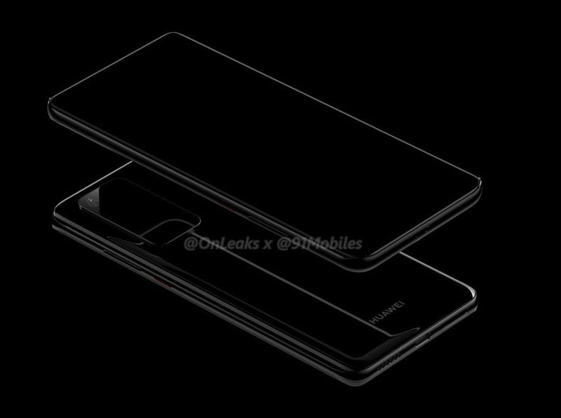 Leaked Huawei P40 and P40 Pro renders reveal Galaxy S11-like gigantic camera module