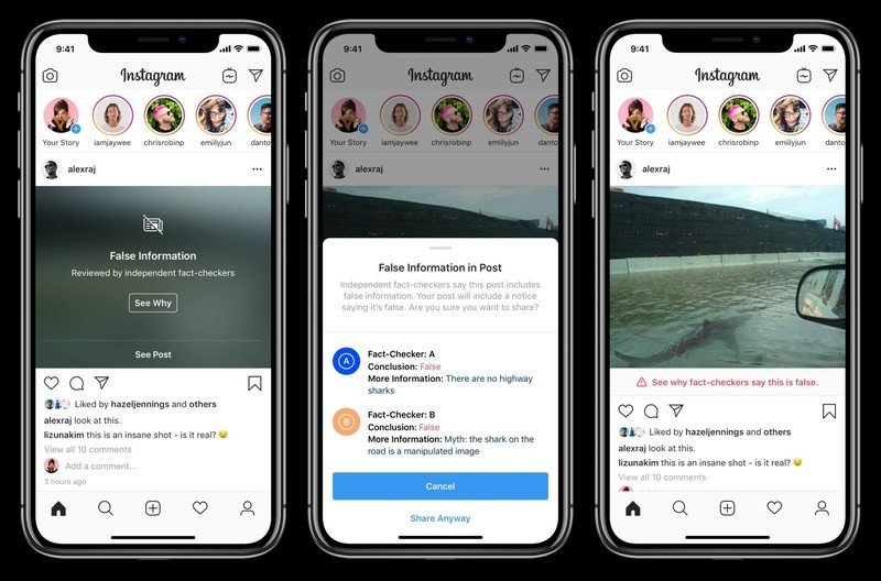 Instagram rolls out new features to combat fake news and hate speech
