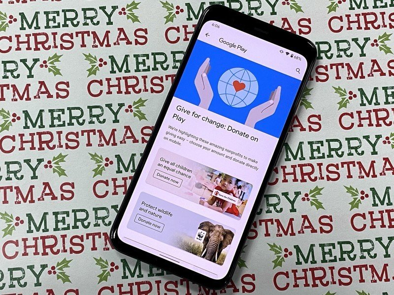 How to make a charitable donation through the Play Store