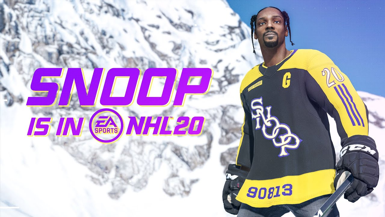 Snoop Dogg Added to NHL 20 as Playable Character and Commentator
