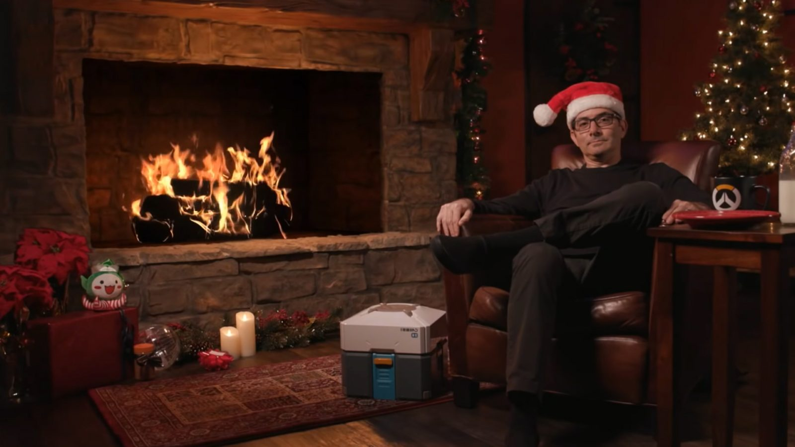 Overwatch Yule Log with Jeff Kaplan is back, baby