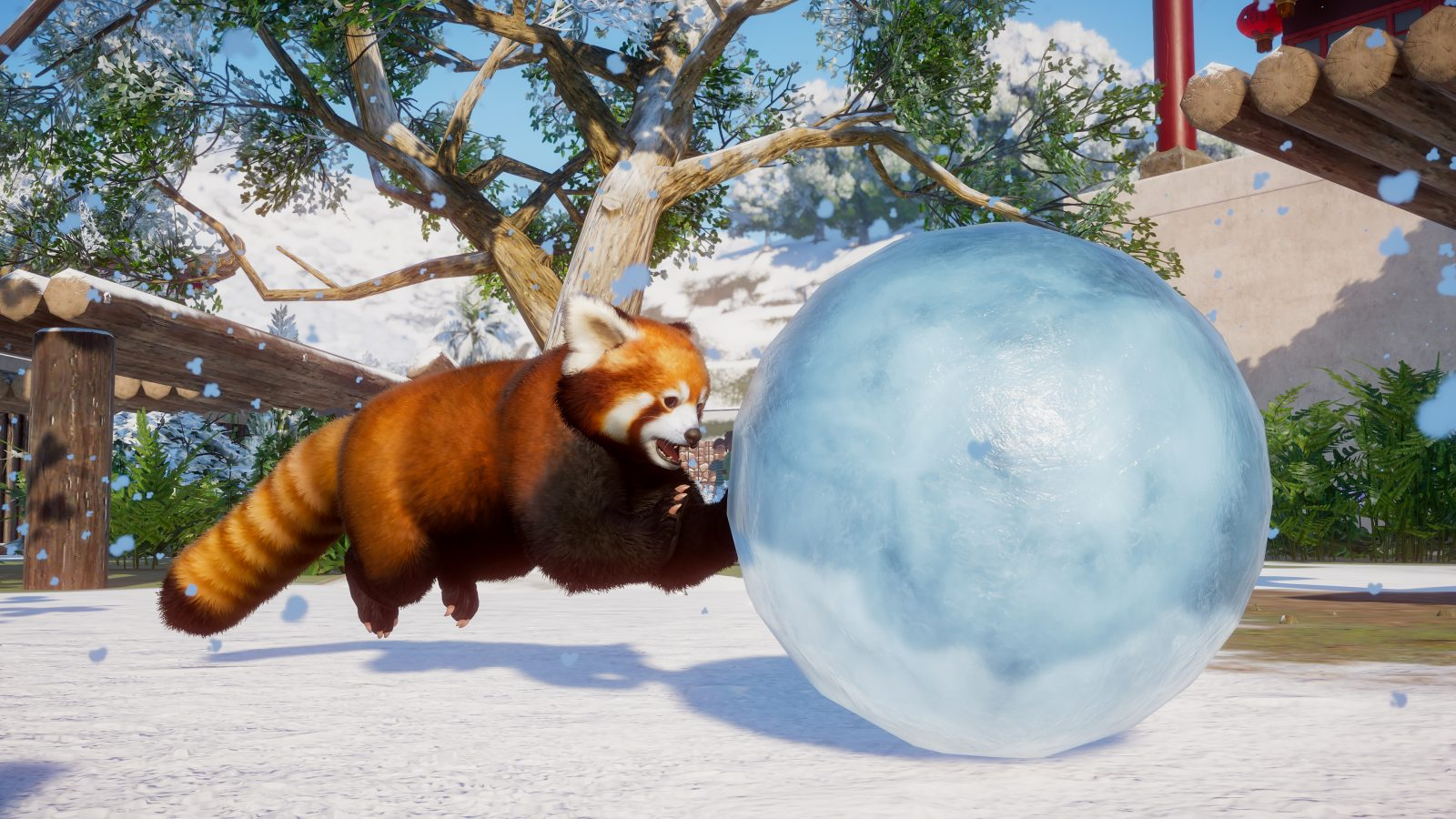 Planet Zoo's first DLC pack adds arctic animals and snow this week