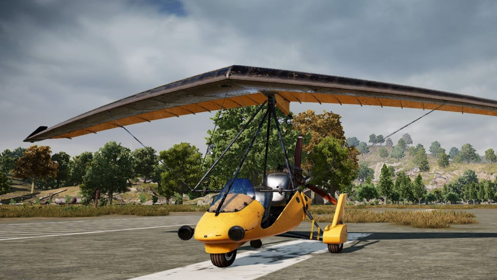 PUBG lets you fly for the first time with a Motor Glider