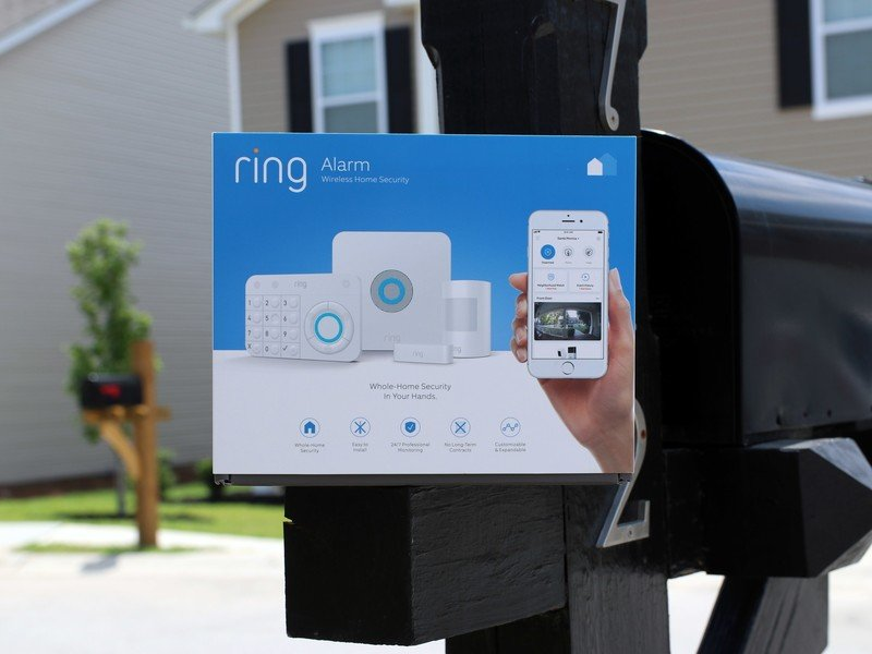 Keep your home secure with the Ring Alarm 5-piece kit and an Echo Dot on Cyber Monday