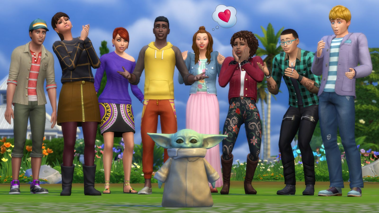 The Sims 4 is brave enough to call 'the Child' Baby Yoda