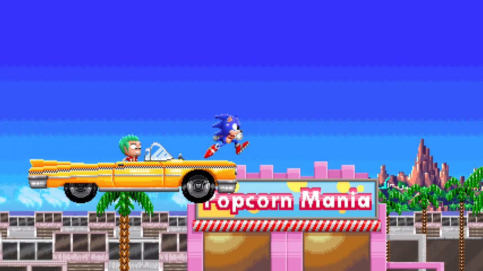 Someone is making a Sonic fan game set in a Sega Cinematic Universe