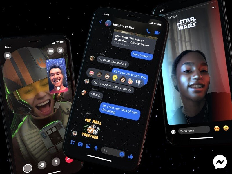 Facebook adds Star Wars themes to Messenger in Rise of Skywalker promotion