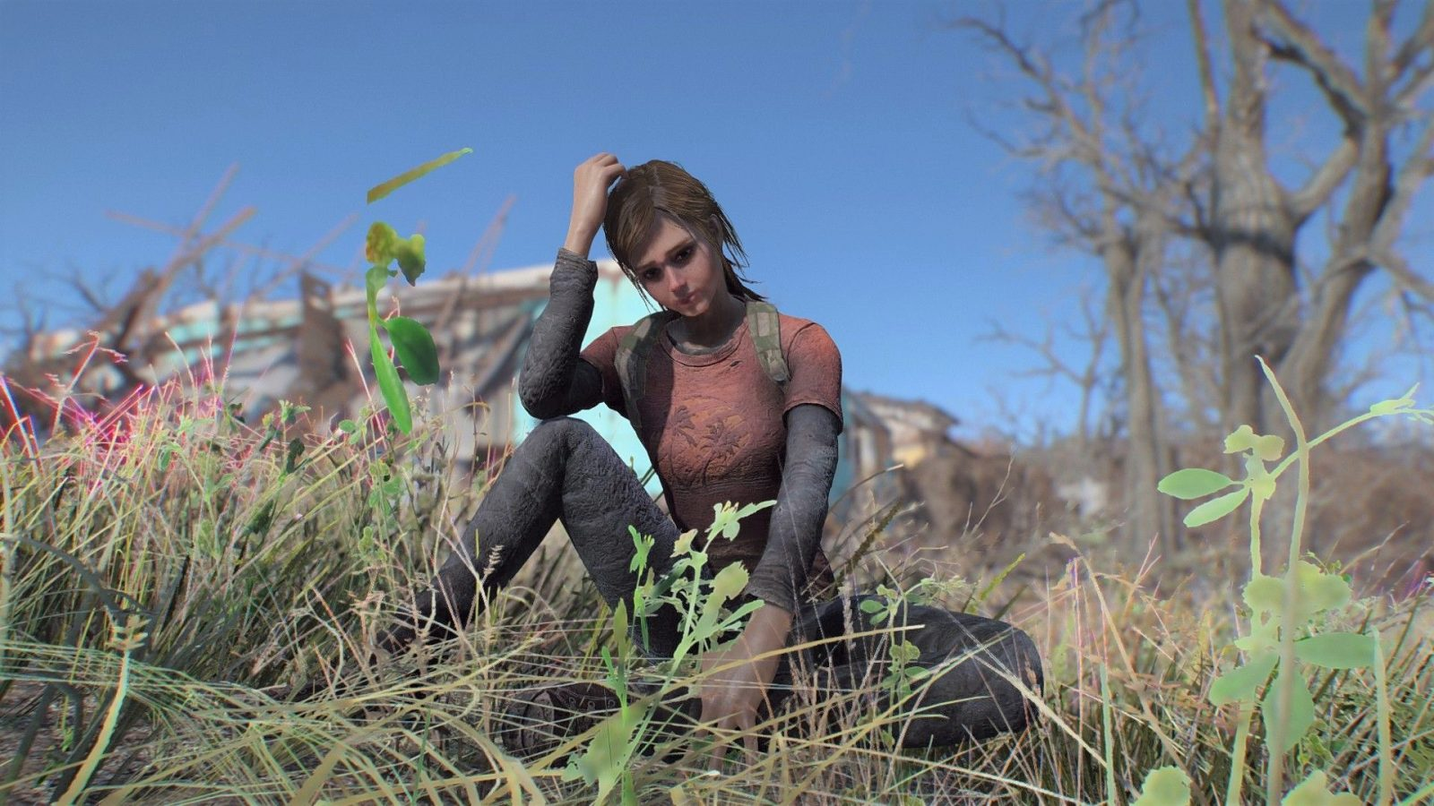 Play as Ellie from The Last of Us with this Fallout 4 mod