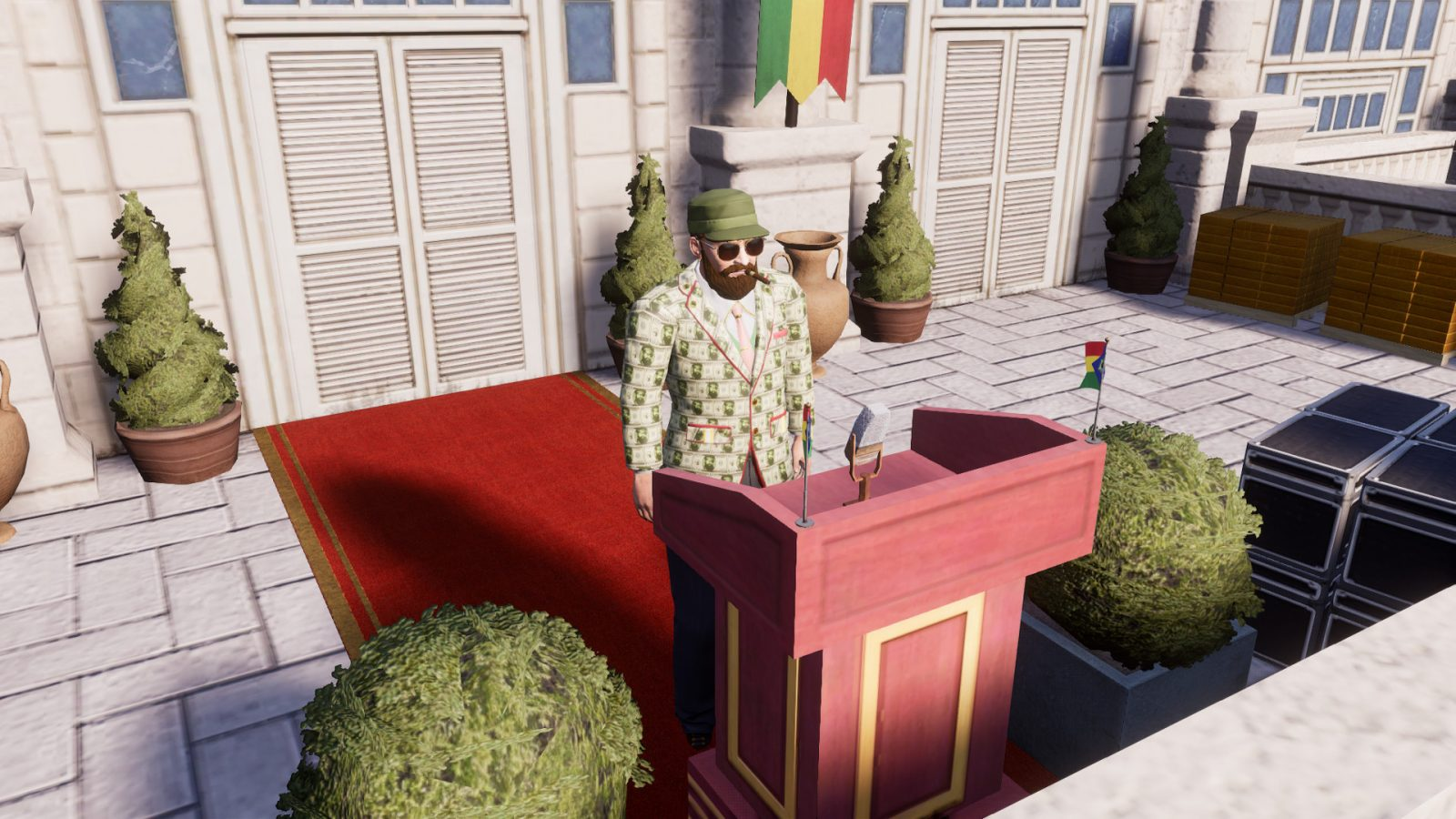 Tropico 6 gets two new expansions from opposite ends of the political spectrum